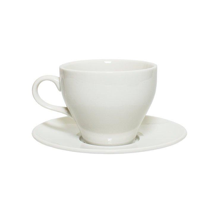 Кофейная пара, 200 мл (фарфор)