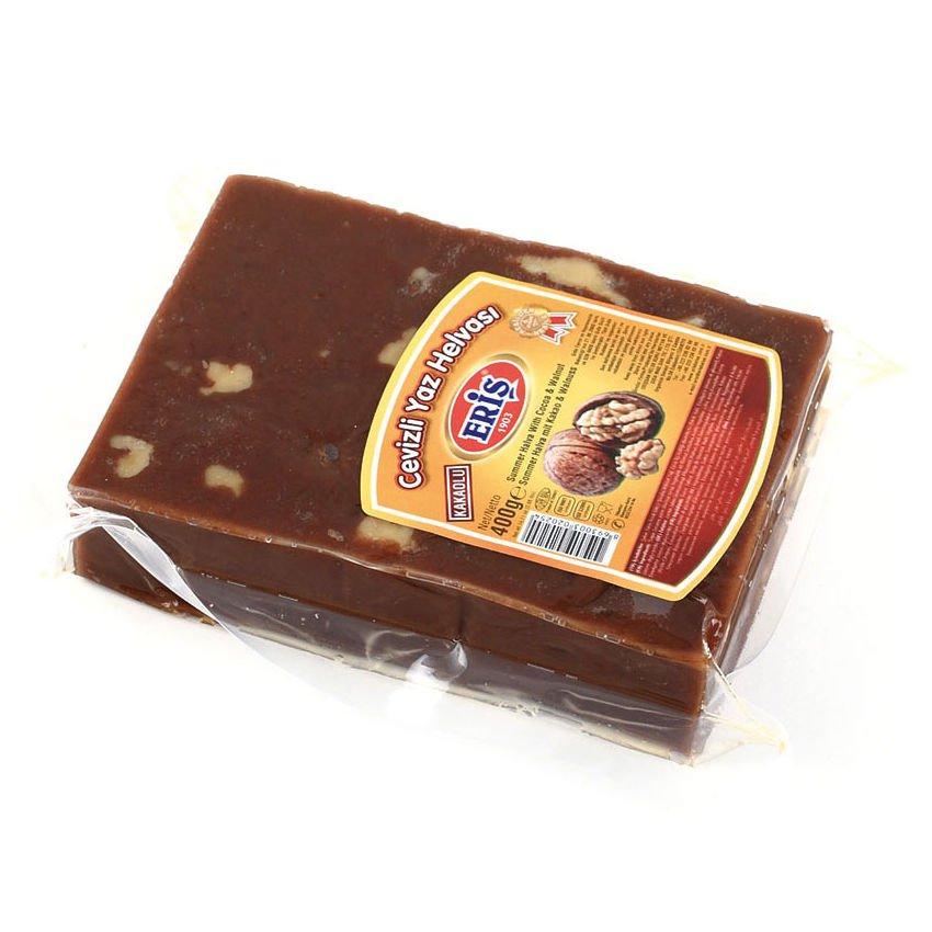 Халва летняя с грецким орехом и какао, 400 г kotanyi приправа сахар с какао с ароматом рома 45 г