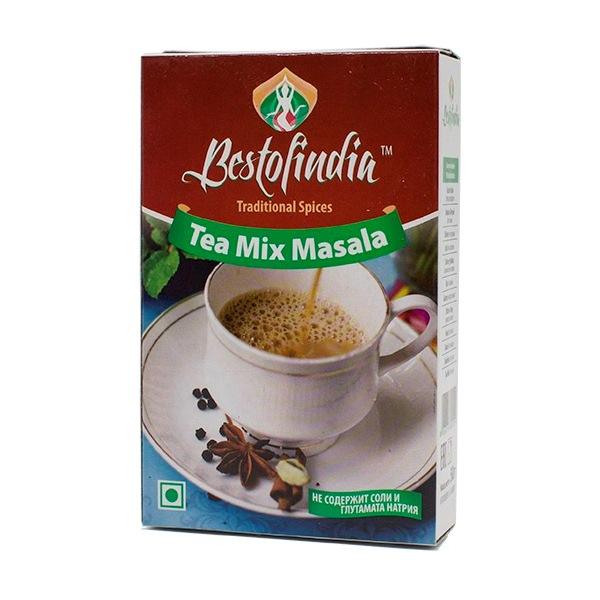 Смесь специй для чая TEA MIX MASALA, 50 г банка для чая gutenberg модерн mei763 разноцветный 50 г