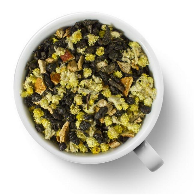 Зеленый ароматизированный чай Чио Чио Сан