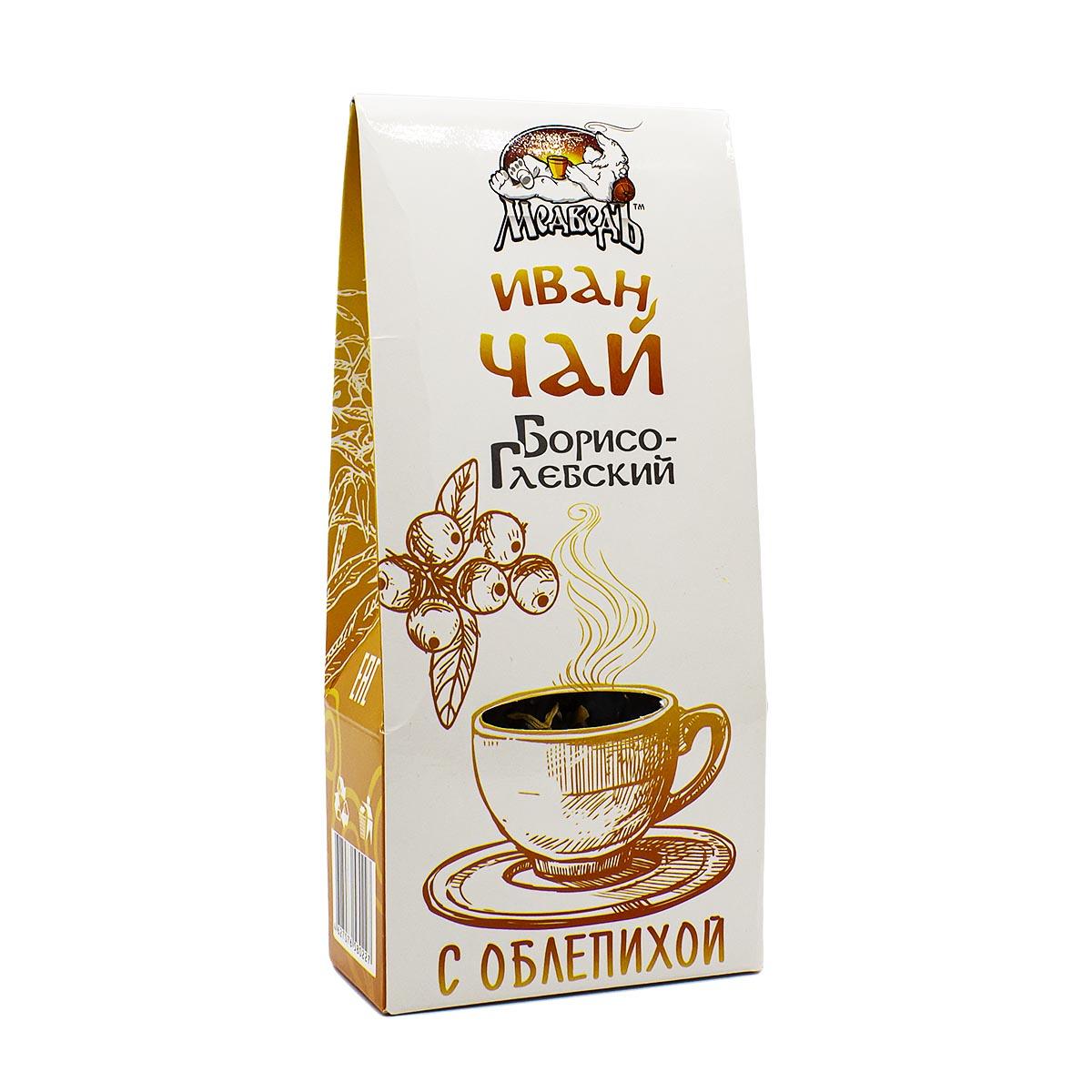 Фото - Иван-чай Борисоглебский с облепихой, 50 г иван чай ферментированный пачка 50 гр