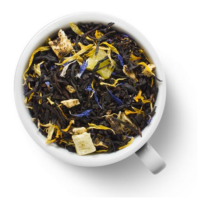 Черный ароматизированный чай Мартиника