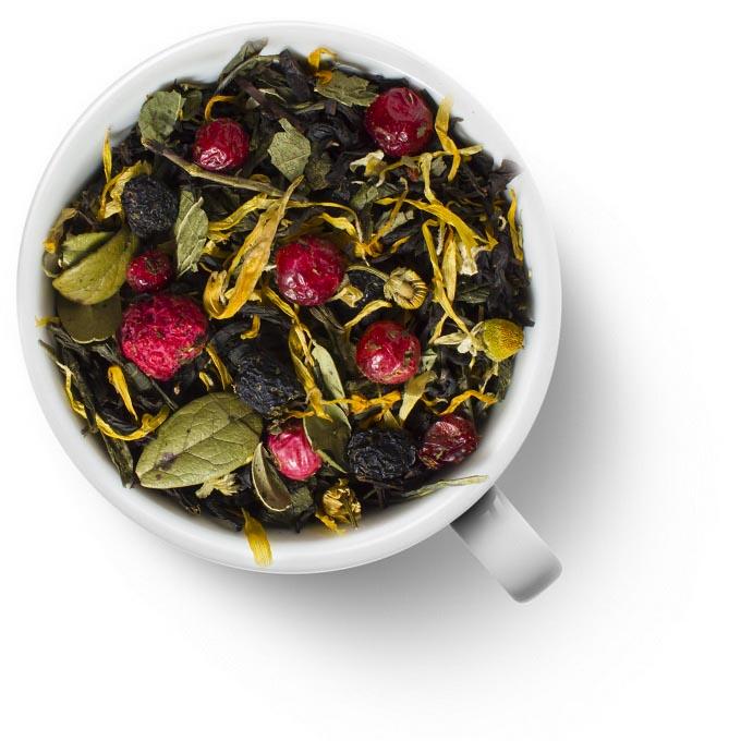 Карельский чай (смесь черного и зеленого чая)