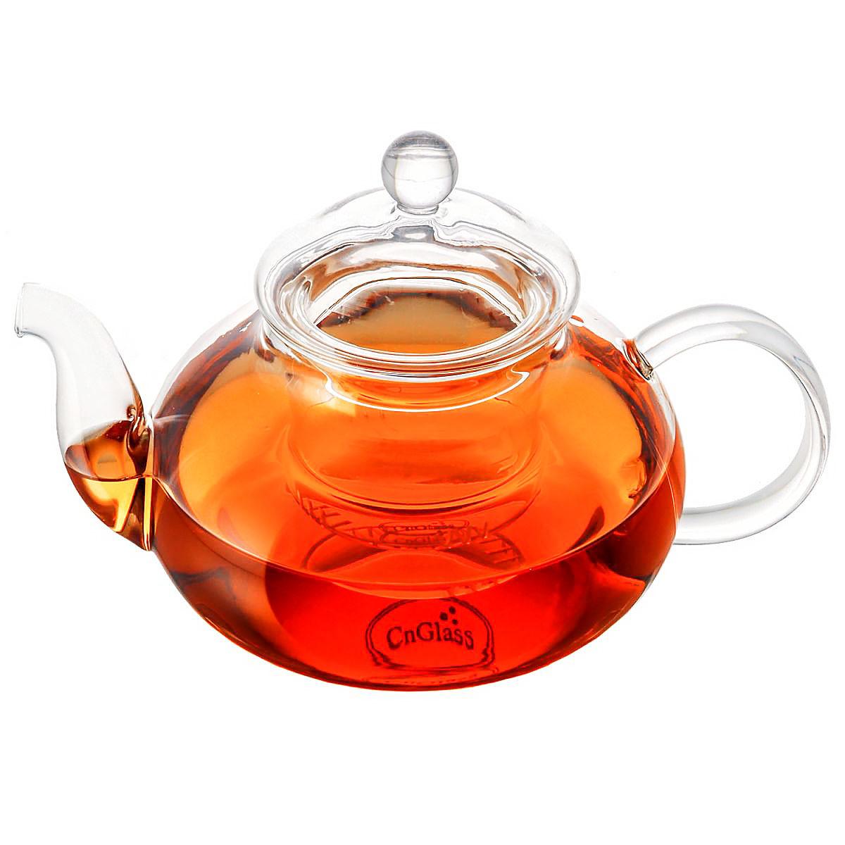 Стеклянный заварочный чайник CnGlass