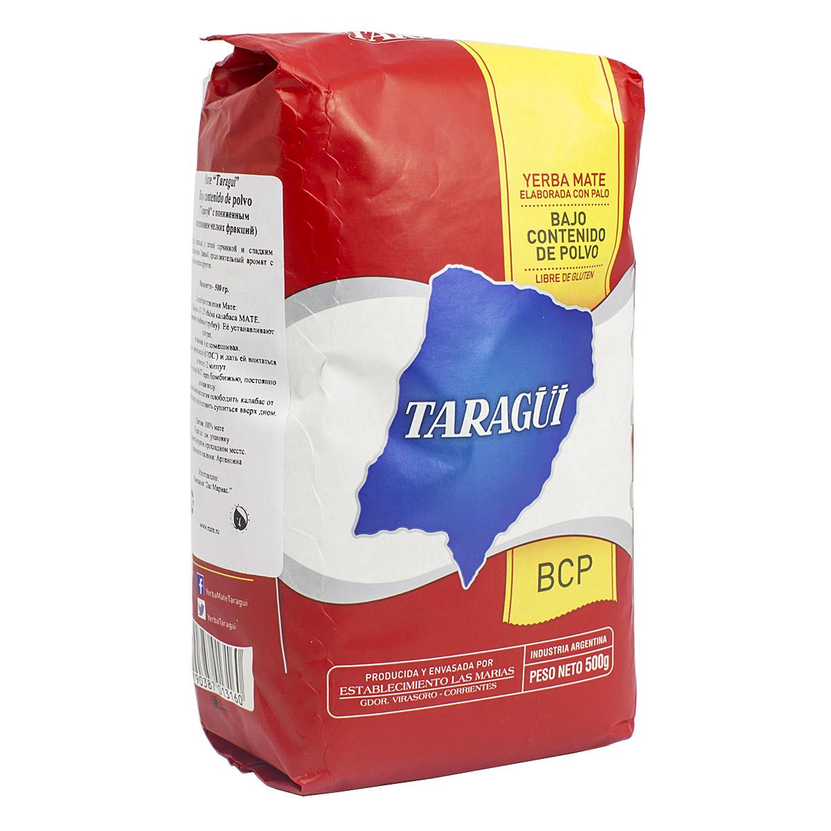 Купить со скидкой Мате Taragui Bajo Contenido de Polvo, 500 г (уцененный товар)