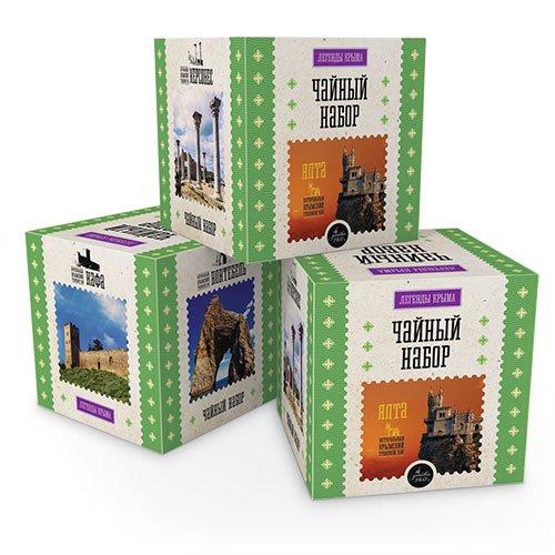 Чайный набор Легенды Крыма, 160 г hilltop чайная улица чайный набор 200 г