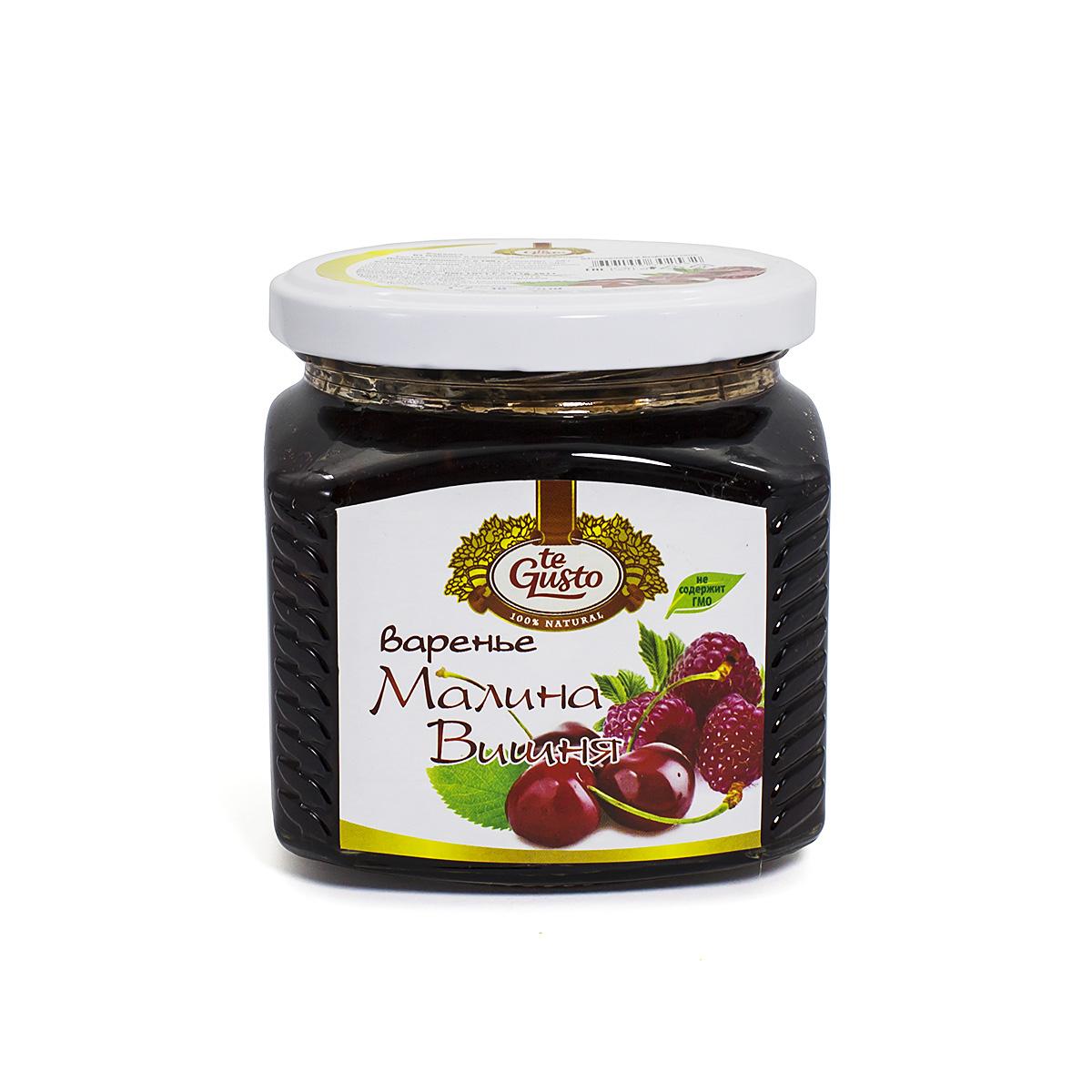 Варенье из малины и вишни Te-Gusto, 470 г