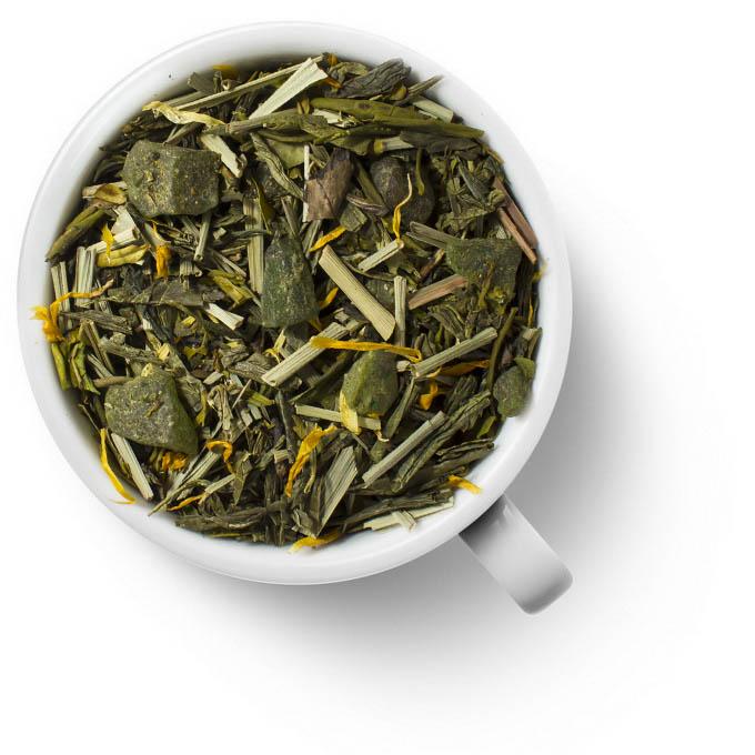 Зеленый ароматизированный чай Алоэ Вера
