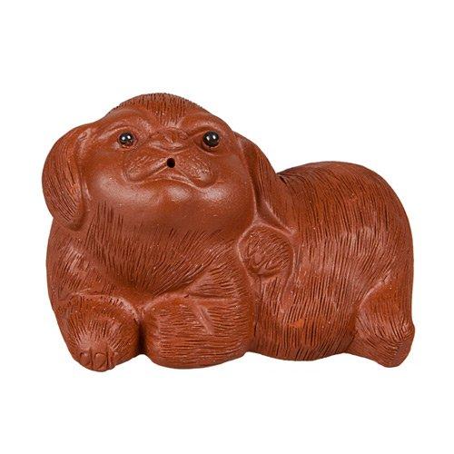 """Глиняная Игрушка для чайной церемонии """"Собака"""""""
