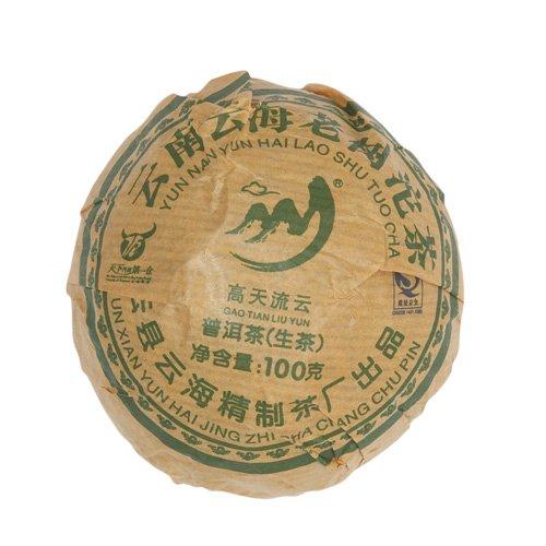Шен Пуэр, фабрика Юнь Хай, 2014 г., то ча, 100 гр.