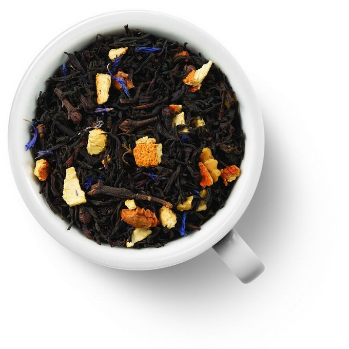 Черный ароматизированный чай Вечер на даче
