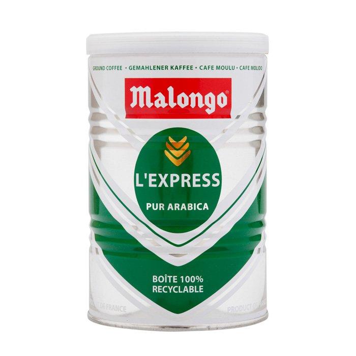 Кофе молотый Malongo Эспрессо, банка 250 г