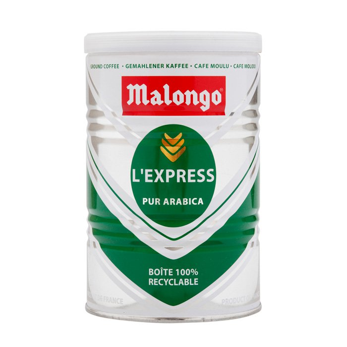 купить Кофе молотый Malongo Эспрессо, банка 250 г онлайн