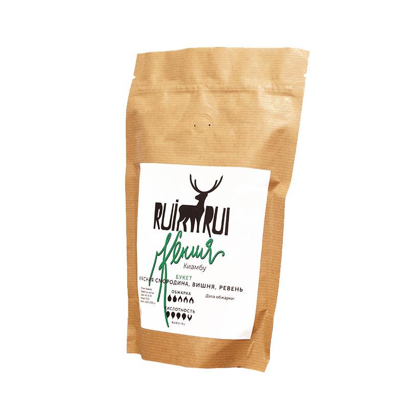 Кофе в зернах Кения Киамбу АА, уп. 250 г