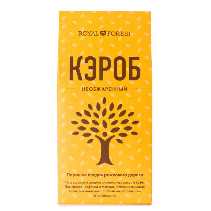 Кэроб необжаренный (порошок из плодов рожкового дерева), 100 г