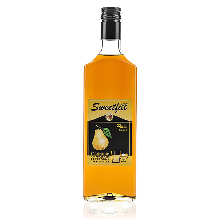 Сироп SweetFill Дюшес, 0,5 л (уцененный товар) сироп sweetfill апельсин 0 5 л