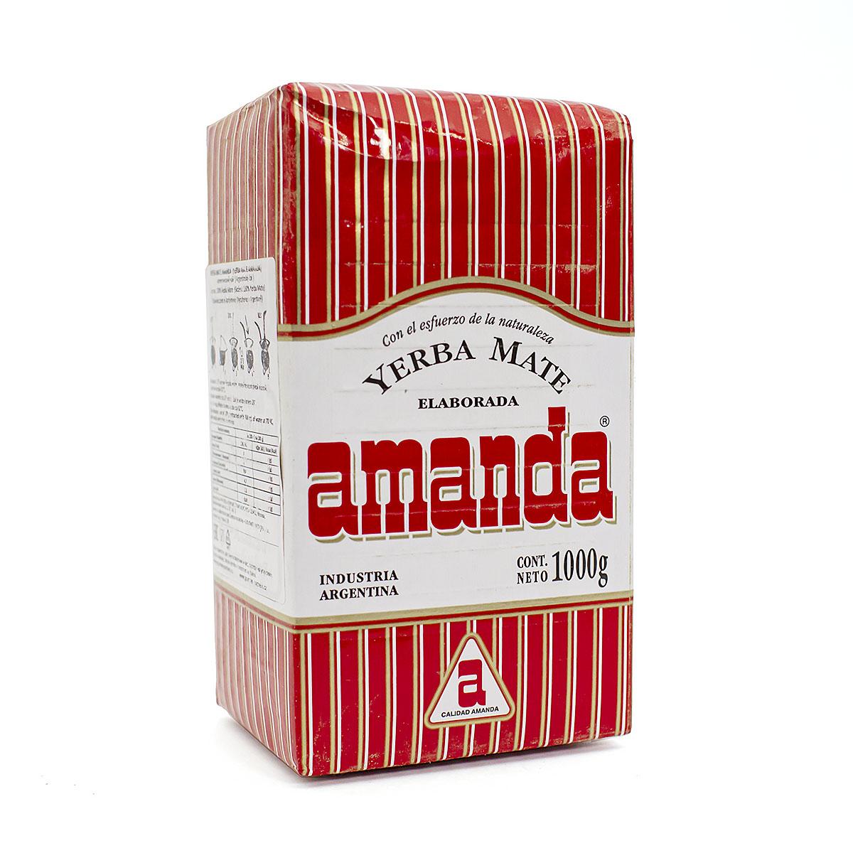 Мате Amanda Tradicional pressed, 1000 г мате amanda tradicional pressed 250 г