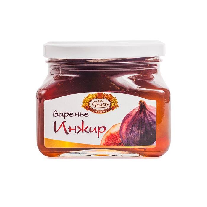 Варенье из инжира Te-Gusto, 430 г te gusto миндаль и инжир в меду 300 г