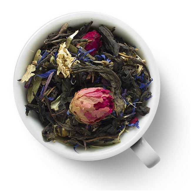Связанный чай Хуа Ли Чжи (Жасминовый Ли Чжи), в уп. 5 шт.