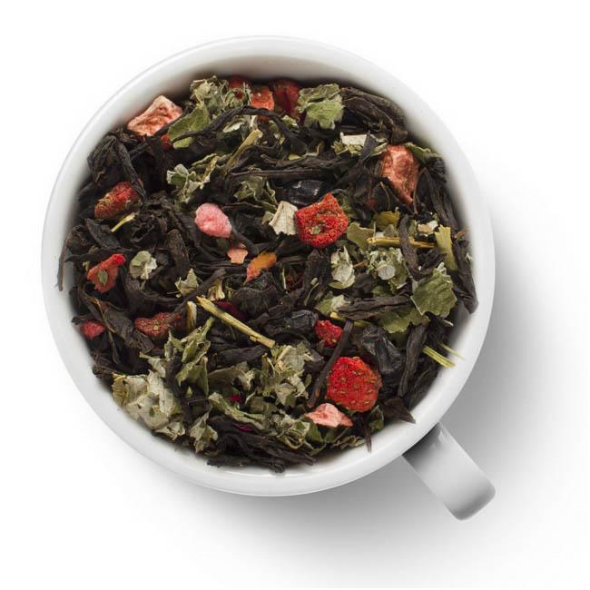 Черный чай Клубничный