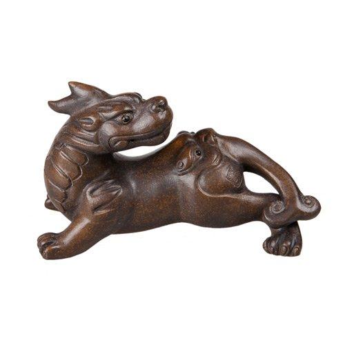 """Глиняная Игрушка для чайной церемонии """"Двуликий Дракон"""" от 101 Чай"""