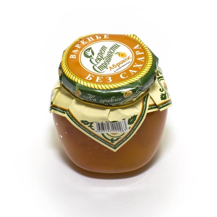 """Варенье из стевии """"Абрикос"""", 200 мл от 101 Чай"""