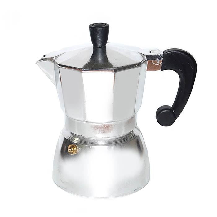 Гейзерная кофеварка алюминиевая, 150 мл