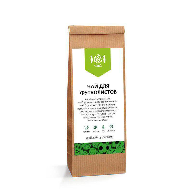 Чай для футболистов (зеленый), 100 г от 101 Чай