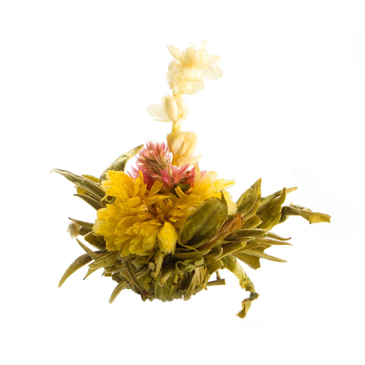 Связанный чай Персик бессмертия с ароматом жасмина в инд. упак.